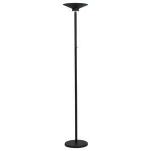 Lite Source Inc. LS-83303BLK Sappho Torchiere Lamps