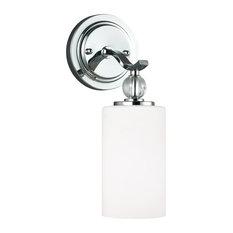 Sea Gull Lighting 1-Light Sconce, A19/100w