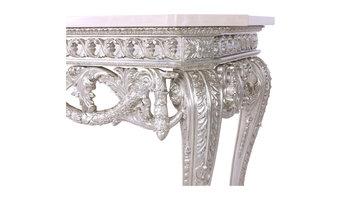 Bespoke Table in Venetian Silver