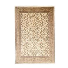 "Qum Silk Rug Persian Carpet 13'1""x9'9"" Hand-Knotted Classic"