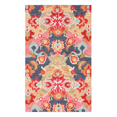 Fiona Hand-Tufted Area Rug, Multicolor, Multi, 9'x12'