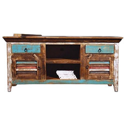 Beach Style Entertainment Centers And Tv Stands by Crafters and Weavers