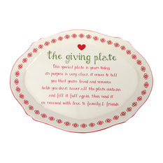 Ceramic Giving Plate