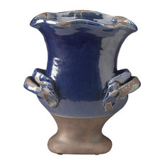 Urns and Statues Planter in Blue