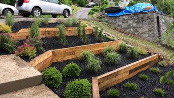 Terraced Garden. After