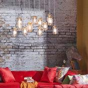 Jars of Light Hanging Light - The White Teak Company