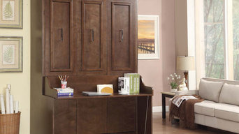 Coventry Double Portrait Wallbed with Desk