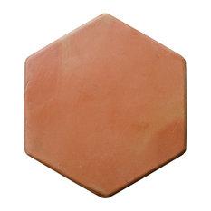 "11.5""x11.5"" Hexagon Super Sealed Saltillo Tile, Spanish Flooring, Set of 250"