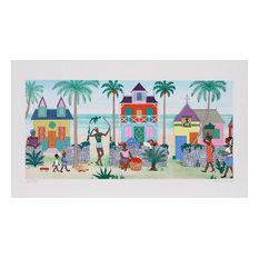 """Haitian VIllage"" Artwork"
