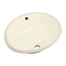 "Transolid, Bathroom Sink, Biscuit, 14""x17""x8"""