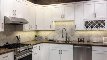kitchen room cabinet