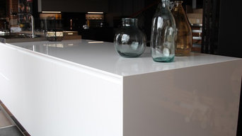 Lapitec® Lux finish - Bianco Assoluto kitchen top
