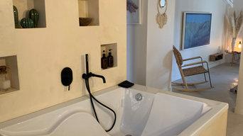 Décoration intérieur et modification suite parentale Bastide La Milane