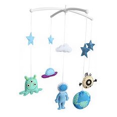 Musical Baby Crib Mobile, Outer Space
