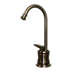 POS Instant Hot Water Faucet with Gooseneck Spout and Self Closing Handle