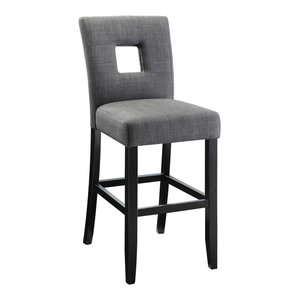 Coaster Andenne Counter Height Chair With Square Cutout In Seat Back, Set of 2