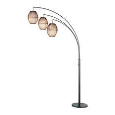Bestselling asian floor lamps for 2018 houzz mod avi arc floor lamp floor lamps aloadofball Images