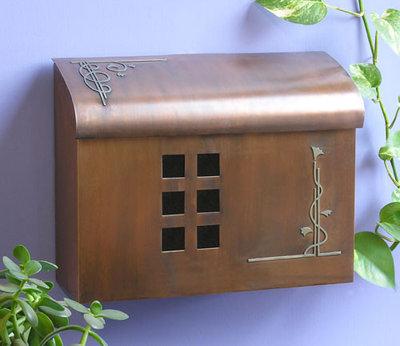 Contemporary Mailboxes Ecco E7 Wall-Mount Mailbox