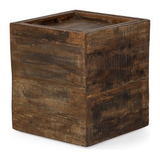 Bexley Wooden Side Table Featuring A Removable Tray Top And Ample Storage Space