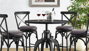 Up to 60% Off Rustic and Industrial Bar Stools