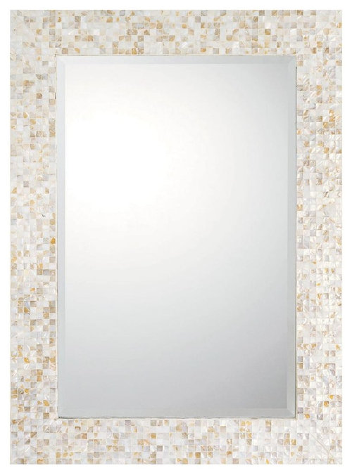 Mother Of Pearl Mosaic Mirror More Info