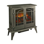 Portable Freestanding Electric Fireplace White 20