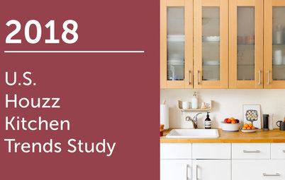 2018 U.S. Houzz Kitchen Trends Study