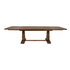Orient Express Traditions Hudson Extension Dining Table, Rustic Java