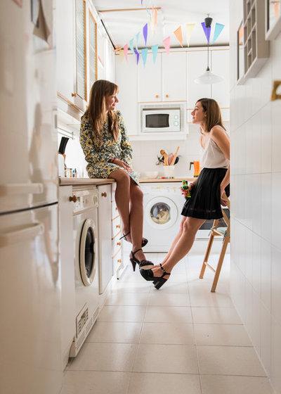 Klassisch modern Küche by Alfredo Arias photo