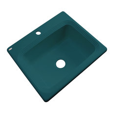 Vancouver 1-Hole Kitchen Sink, Teal