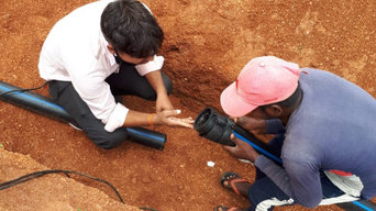 HDPE Waterline Piping in Visakhapatnam