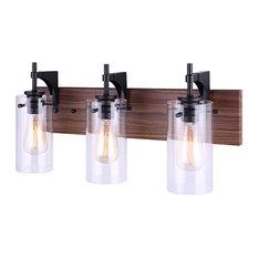 Canarm Arlie 1-LT Vanity Light IVL710A03BKW, Metal