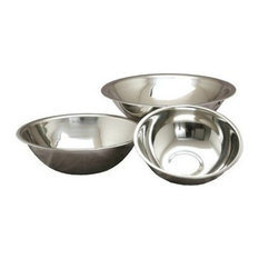 Deep Heavy Duty Stainless Steel Mixing Bowls, Set of 3