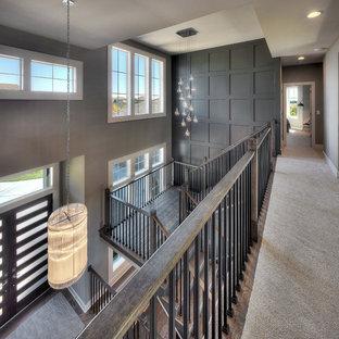 Minimalist home design photo in Kansas City