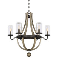 Eden 6-Light Outdoor Chandelier