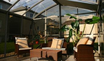 3 Season Glass Roof