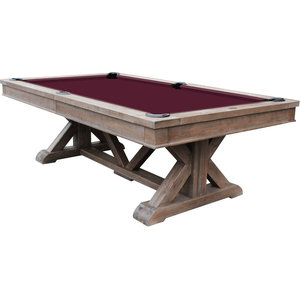 Super Brazos River 8 Slate Pool Table In Weathered Black Beutiful Home Inspiration Xortanetmahrainfo