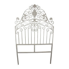 Flora Iron Headboard, Twin