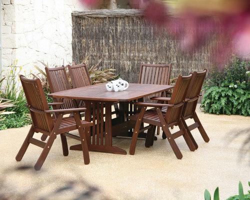 Stylish Outdoor Entertaining Ideas : Outdoor Dining and Outdoor Seating - Outdoor Dining Furniture
