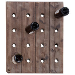 Rustic Wine Racks by Holly Doss