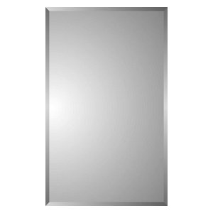 Polaris Beveled Plain Rectangle Medicine Cabinet Smoke