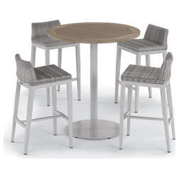 Tropical Outdoor Pub And Bistro Sets by Oxford Garden
