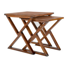 Triangle Play Nesting Tables, 2-Piece Set