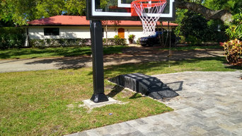"""Pro Dunk Silver (60"""") In-ground Basketball System"""