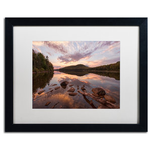 Michael Blanchette Photography Pastoral Reflection Matted Framed Art Contemporary Prints And Posters By Trademark Global Houzz