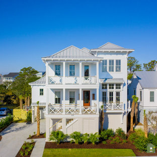The Cove- Water View Delpino Custom Luxury Coastal Dutch West Indies Style Home