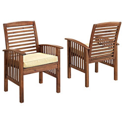Transitional Outdoor Lounge Chairs by Walker Edison