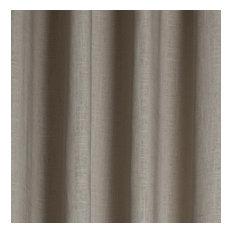 """Serene Linen, Natural Cotton, Grommet Drapery Panel, 50""""x95"""""""