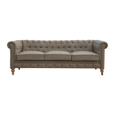Barbon 3-Seater Chesterfield Sofa