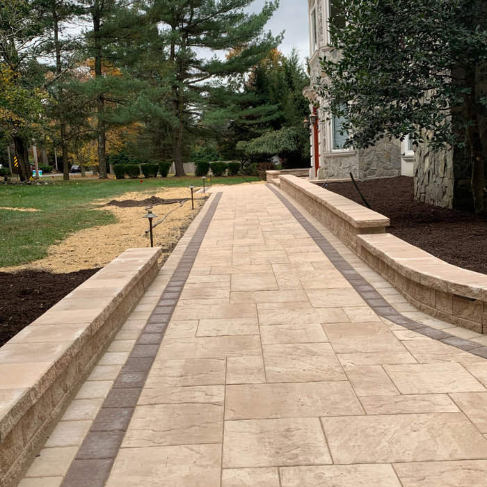 Cambridge  paver walkway! Beautiful look!